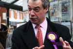 UKIP leader Nigel Farage. Pic credit: Jennifer Jane Mills