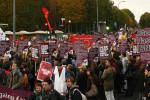 UAF protest. Pic credit: Mike Fleming