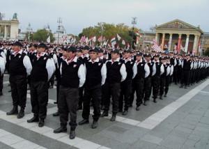 Jobbik's paramilitary Hungarian Guard