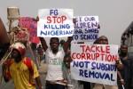 Anti Corruption protest Nigeria