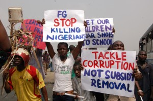 Anti Corruption protest Nigeria