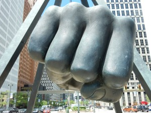 The Fist, Detroit (Pic: Martin Smith)