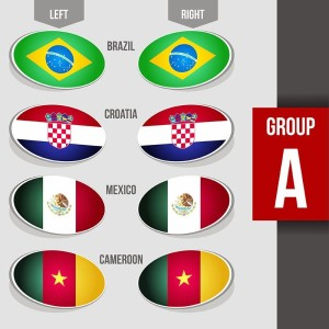 Group A free-vector-flags