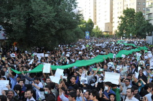 Mass protests in Iran followed the 2009 elections. Pic credit: Milad Avazbeigi
