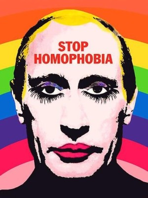 Vladimir Putin, the well known homophobe.