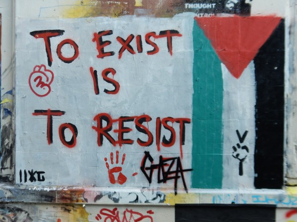 To Exist is to Resist (Pic credit Martin Smith)