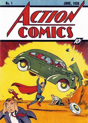 Action Comics #1, June 1938