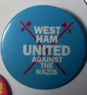 West Ham United against the Nazis