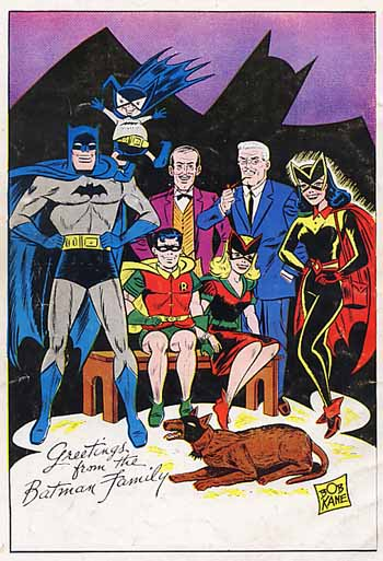 Batman and family, 1950s