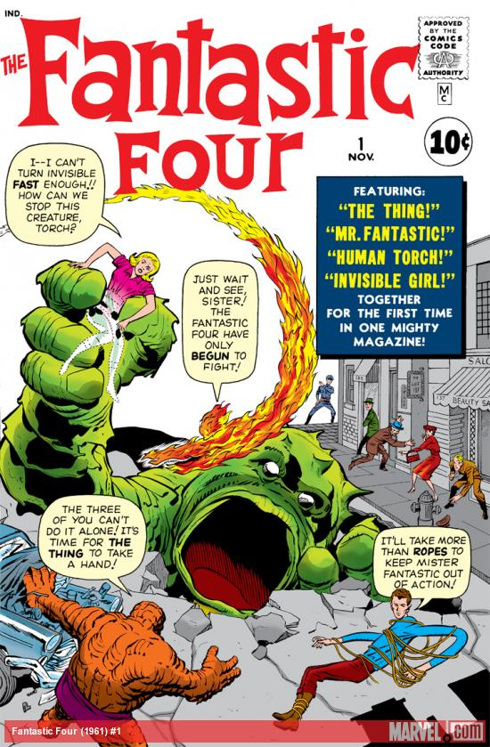 The Fantastic Four, 1961