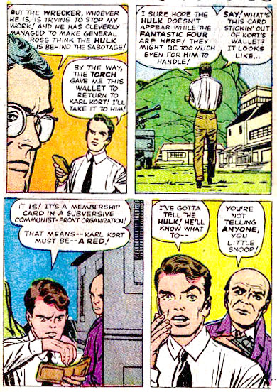 Fantastic Four, #12 1963