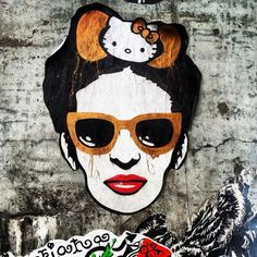 Frida meets Warhol on the streets of Pilsen (pic credit Martin Smith