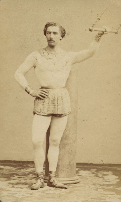 Jules Leotard, an early model for superheroes with *those* underpants