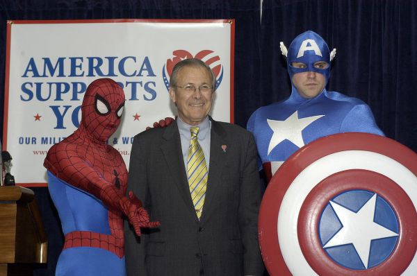 Donald Rumsfeld and friends