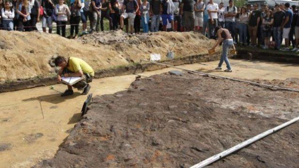 Excavations at Sobibor. Pic credit: Emory University