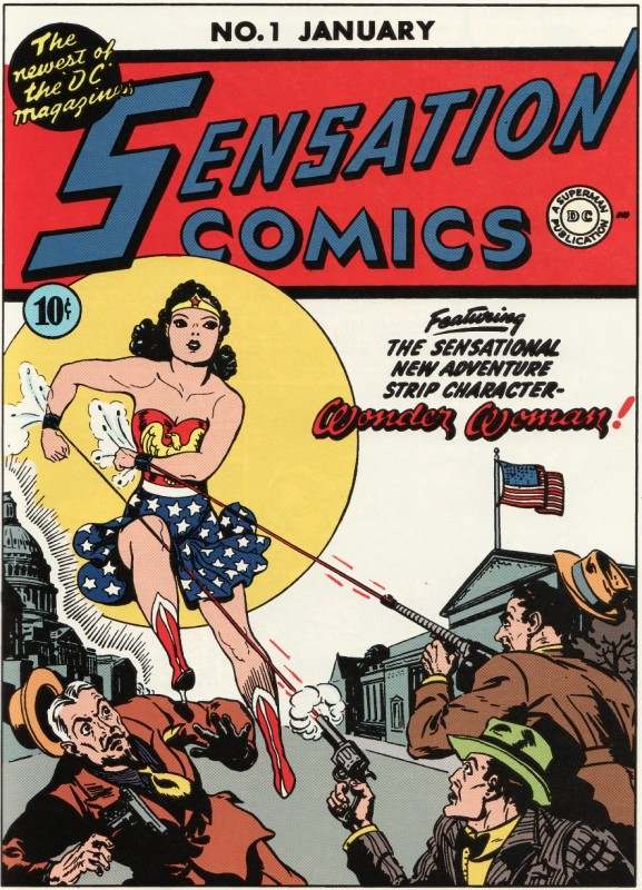 Sensation Comics #01 January 1942