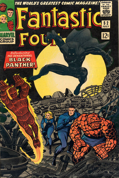 This comic pre-dated the formation of the Black Panther Party by just a few months