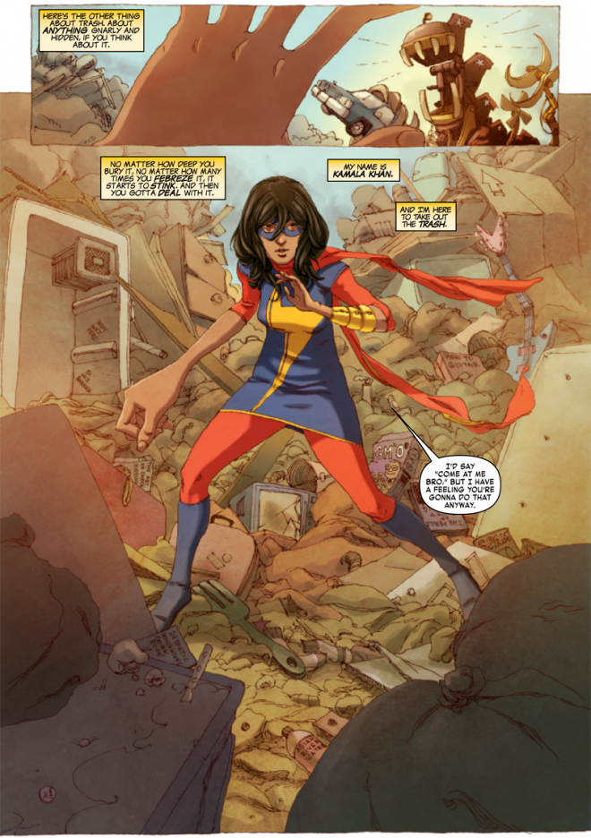 Muslim-American Ms Marvel – a sign of progress