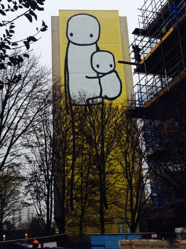 Stik's mural in Acton (pic credit Martin Smith)