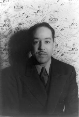 Langston Hughes (pic credit Carl Van Vechten 1936)