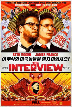 Promotional poster for The Interview