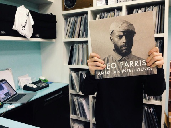 Theo Parrish record cover (pic credit Kristina Records)