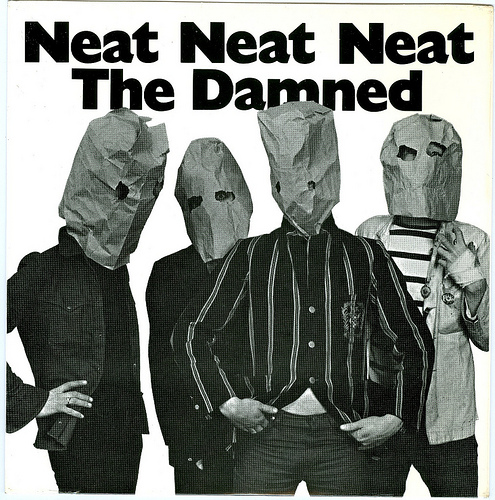 The cover of The Damned's Neat Neat Neat