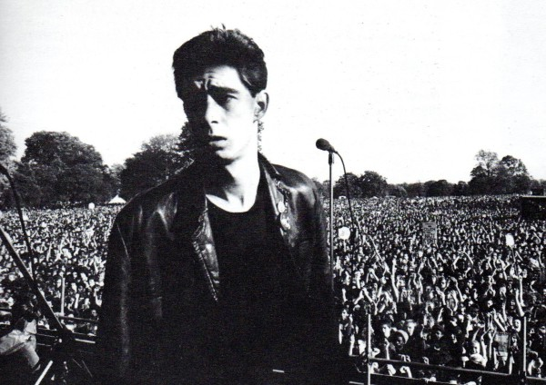 Jimmy Pursey at Victoria Park. Pic credit: Syd Shelton