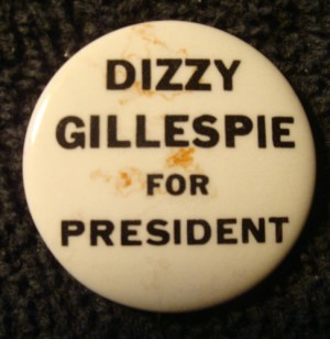 Dizzy campaign badge
