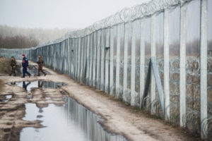 Hungary's new 'Iron Curtain' (pic credit Bloomberg)