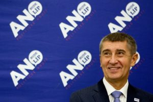 The racist and populist Andrej Babis